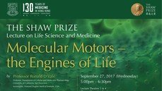 The Shaw Prize Lecture in Life Science and Medicine 2017