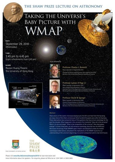 Poster of Taking the Universe's Baby Picture with WMAP