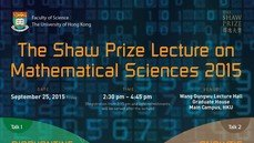 The Shaw Prize Lecture in Mathematical Sciences 2015