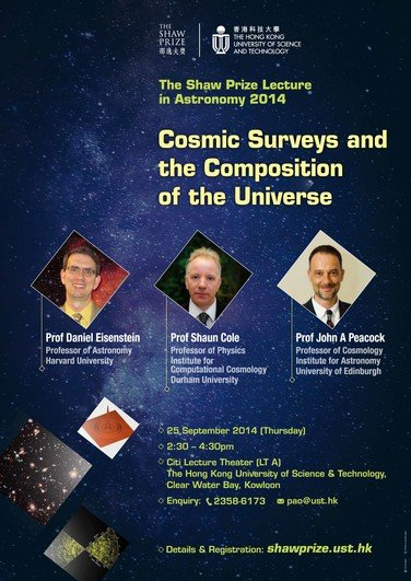 """Cosmic Surveys and the Composition of the Universe"" 海报"