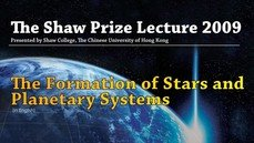 The Shaw Prize Lecture in Astronomy 2009