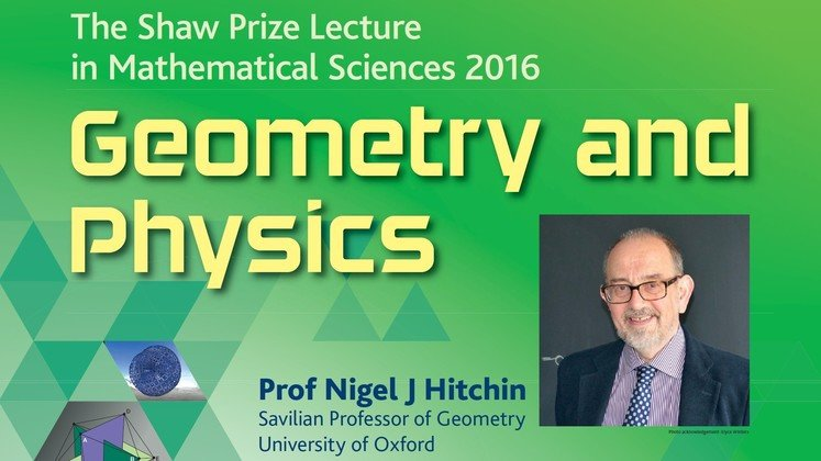 The Shaw Prize Lecture in Mathematical Sciences 2016