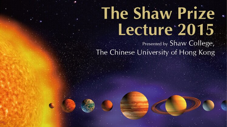 The Shaw Prize Lecture in Astronomy 2015